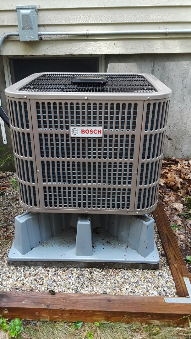 Shirley, MA - Clean and check Bosch heat pump