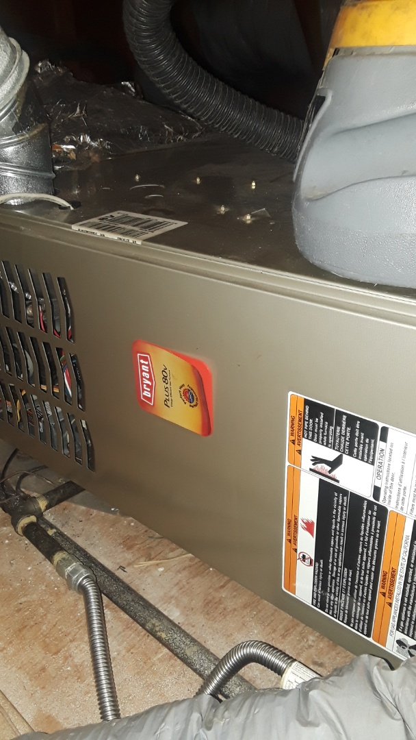 Fitchburg, MA - Clean and check Bryant gas furnace