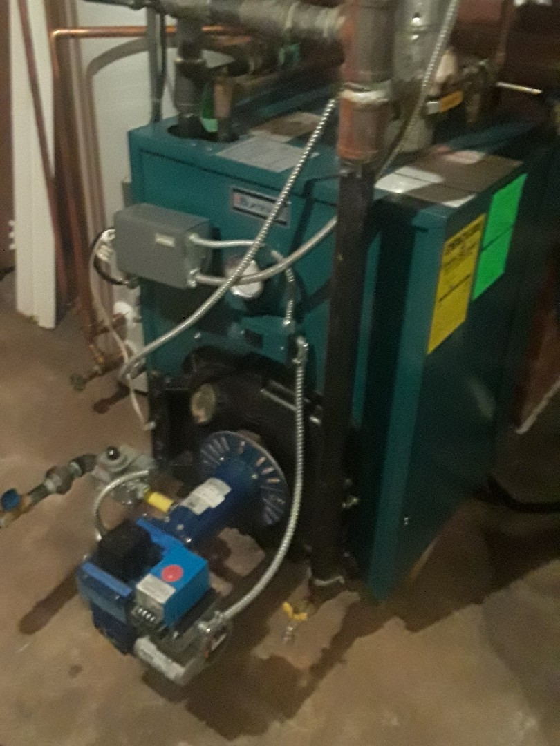Worcester, MA - Clean and check Burnham gas boiler