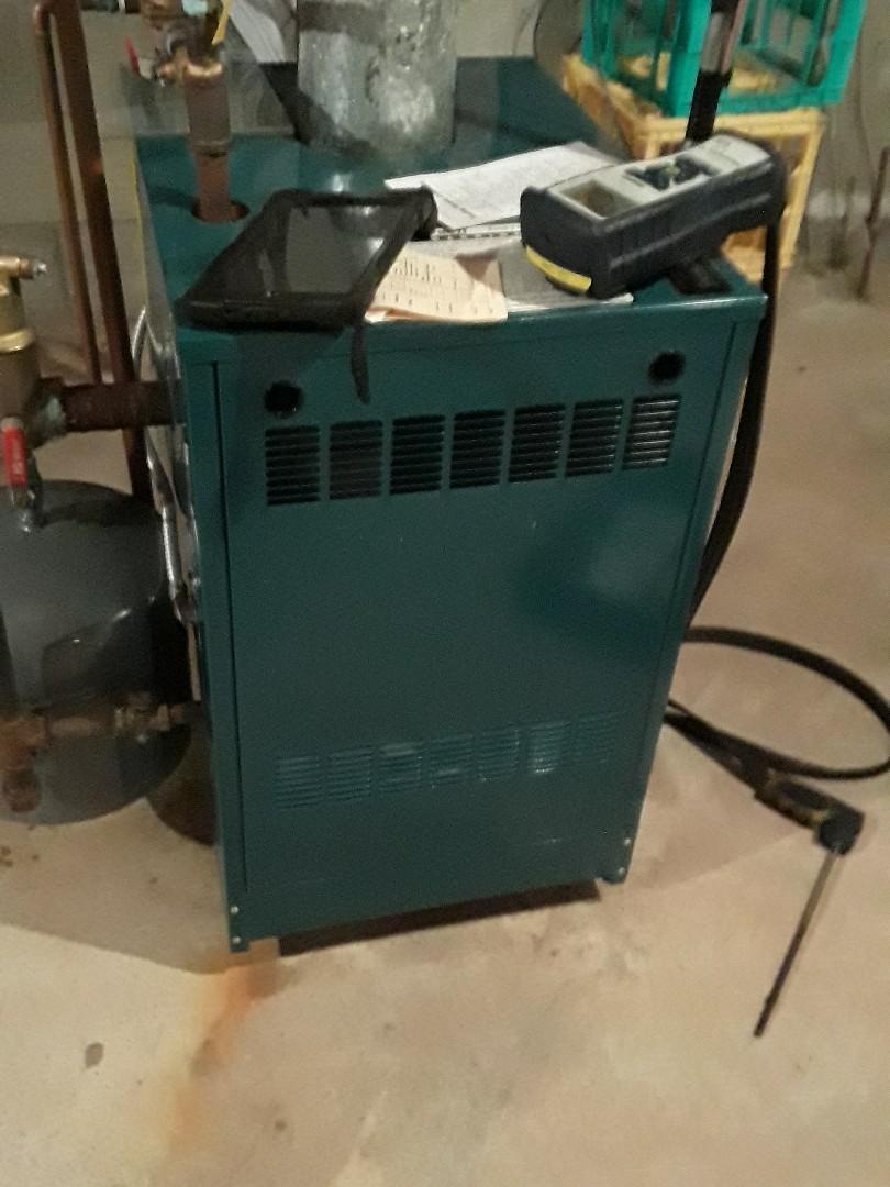 Shrewsbury, MA - Clean and check Burnham gas boiler