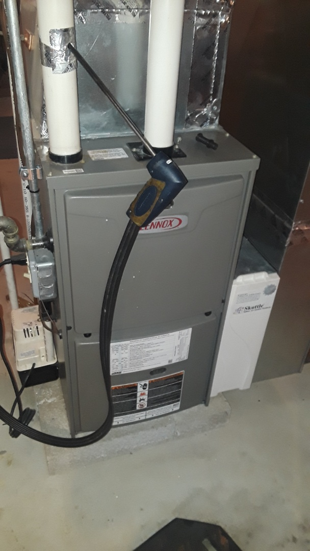 Leominster, MA - Clean and check Lennox gas furnace