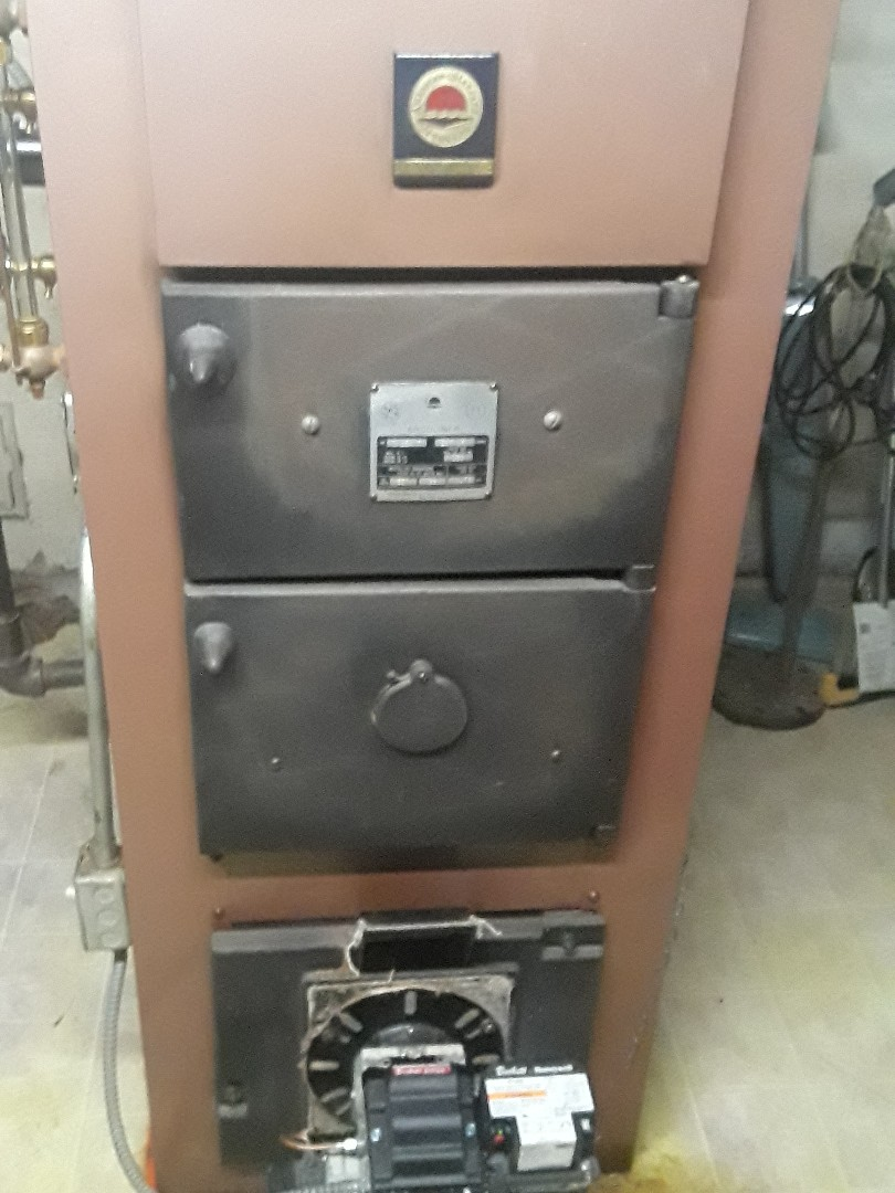 Fitchburg, MA - Clean and check American Standard oil boiler