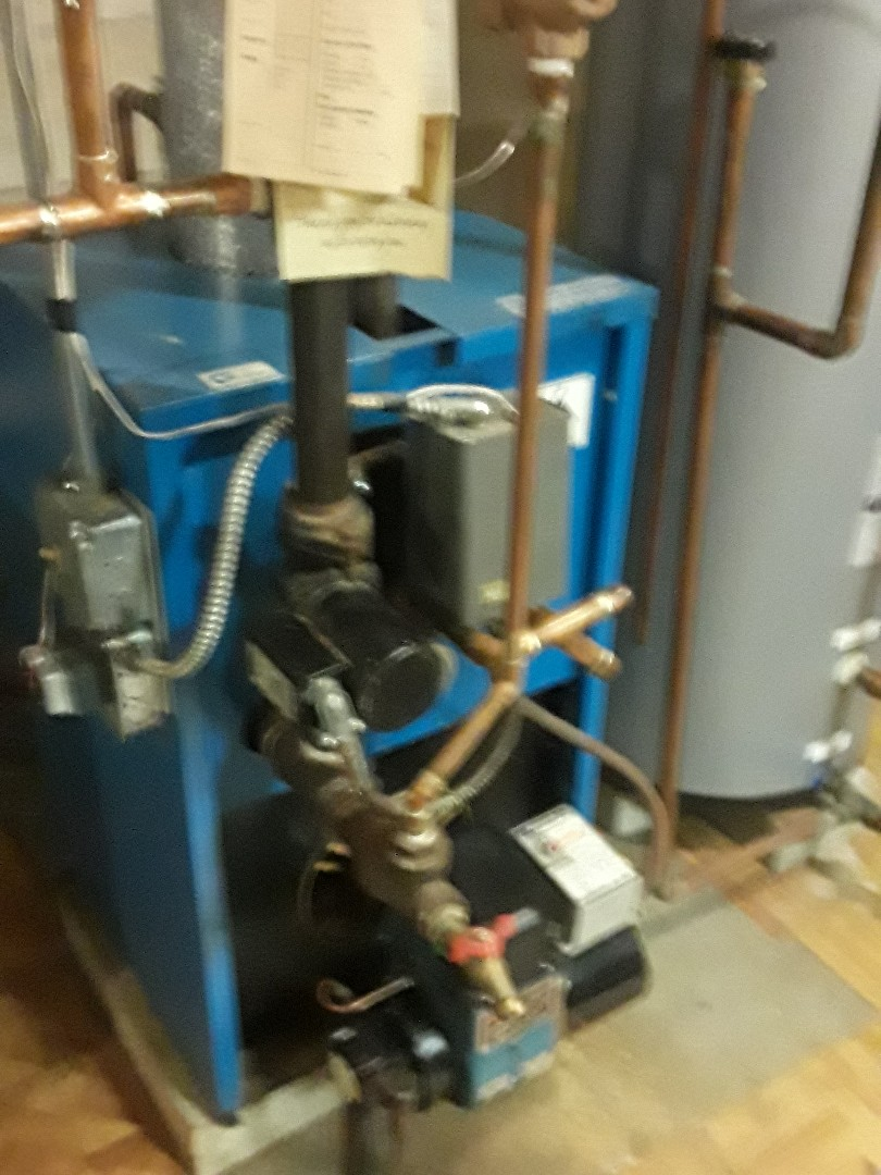 Leominster, MA - Clean and check Trianco oil boiler