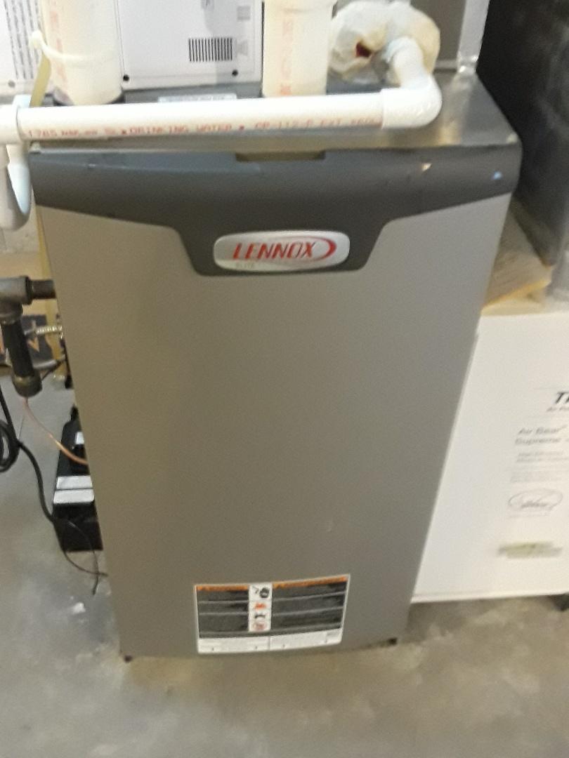 Gardner, MA - Repair on a Lennox Gas heating unit