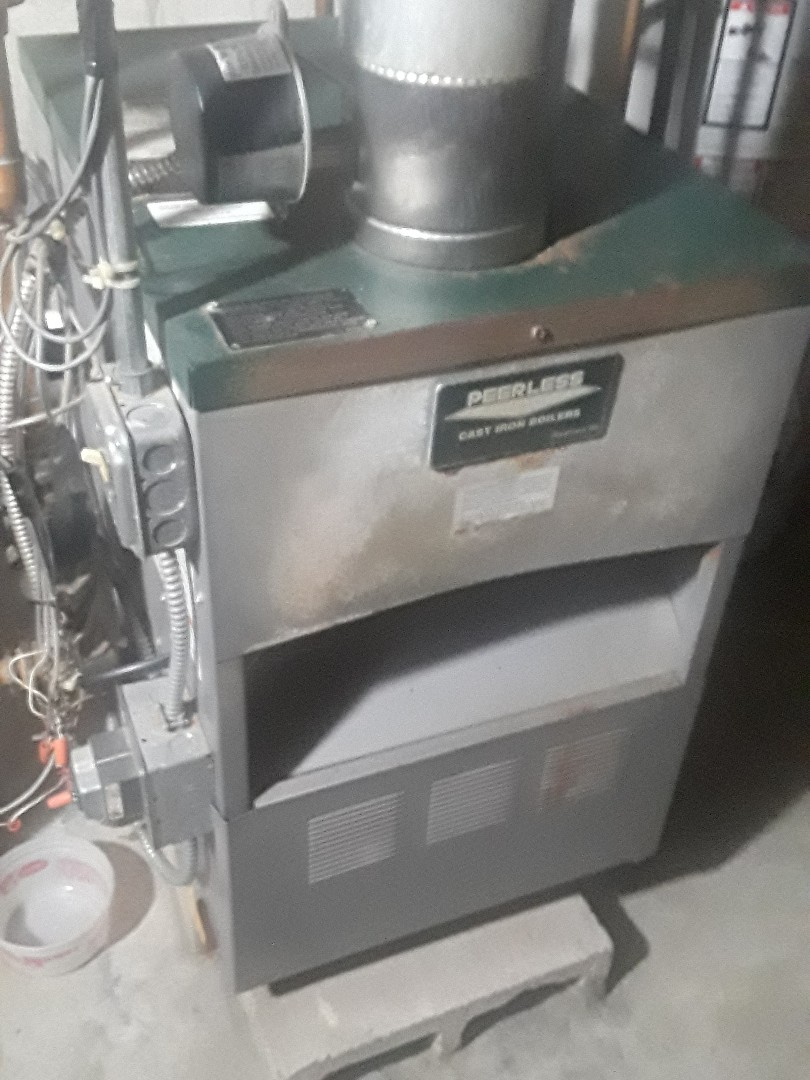 Ayer, MA - Clean and check Peerless gas boiler