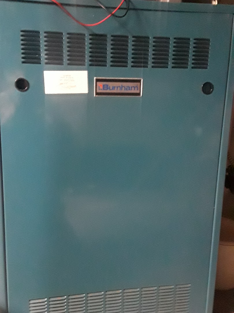 Clinton, MA - Repair on a Burnham gas steam boiler