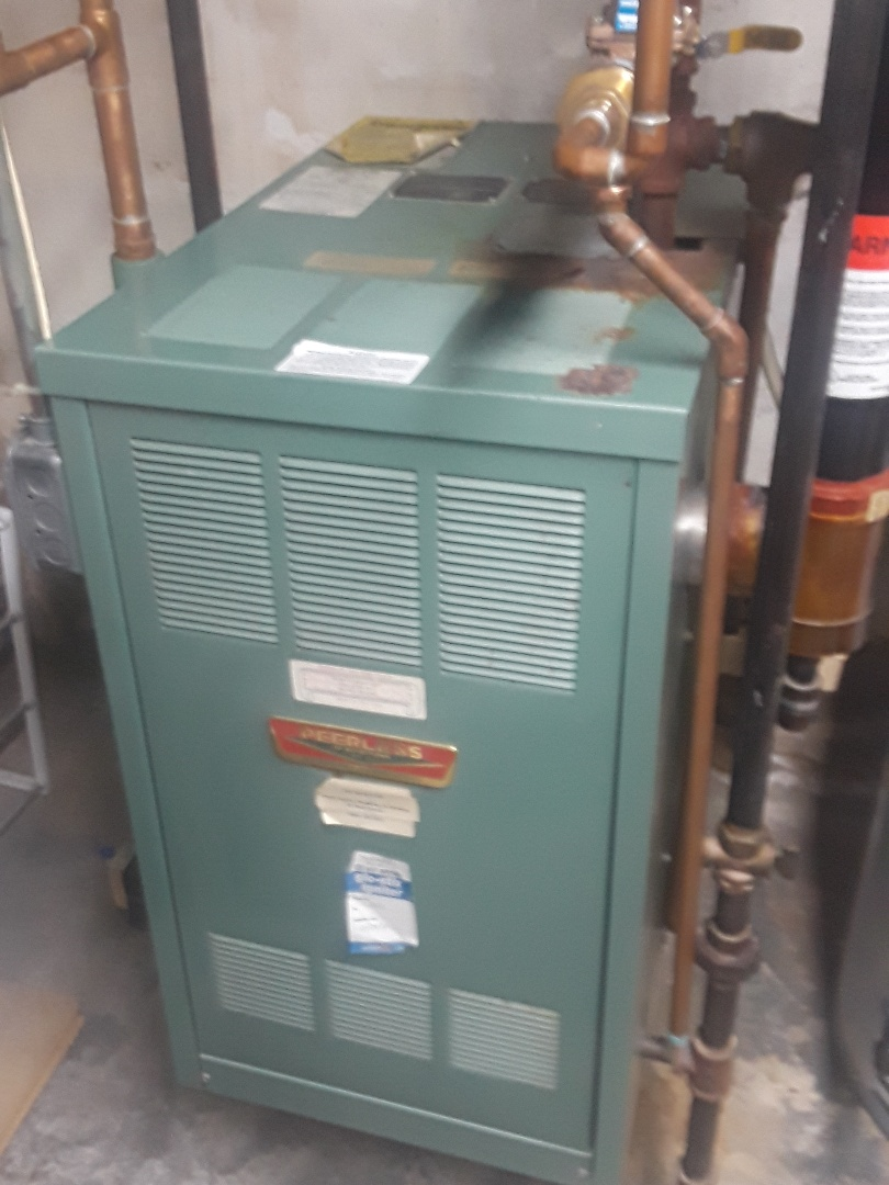 Fitchburg, MA - Clean and check Peerless gas boiler
