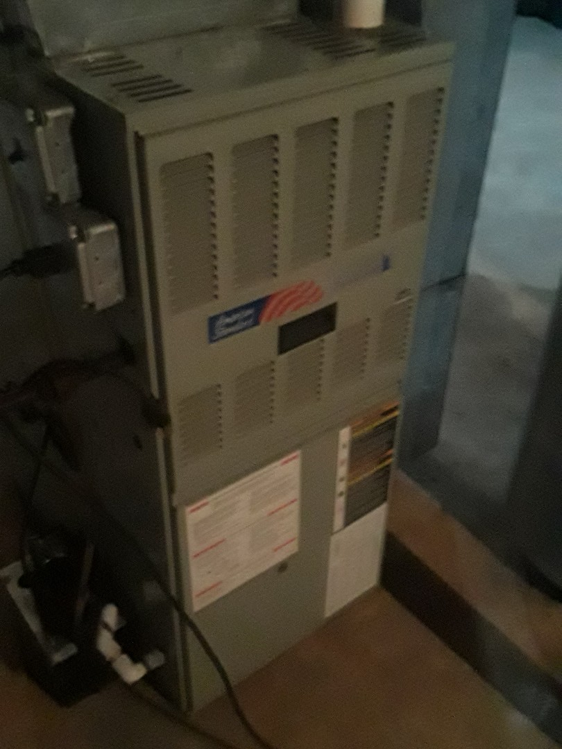 Clean and check American Standard gas furnace