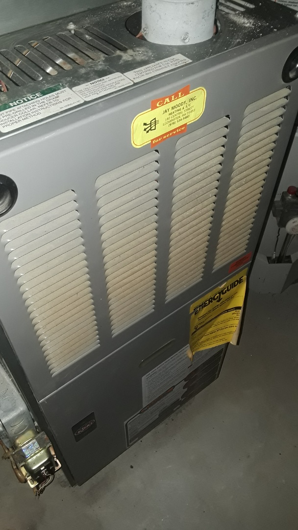 Fitchburg, MA - Clean and check Weatherr King gas furnace