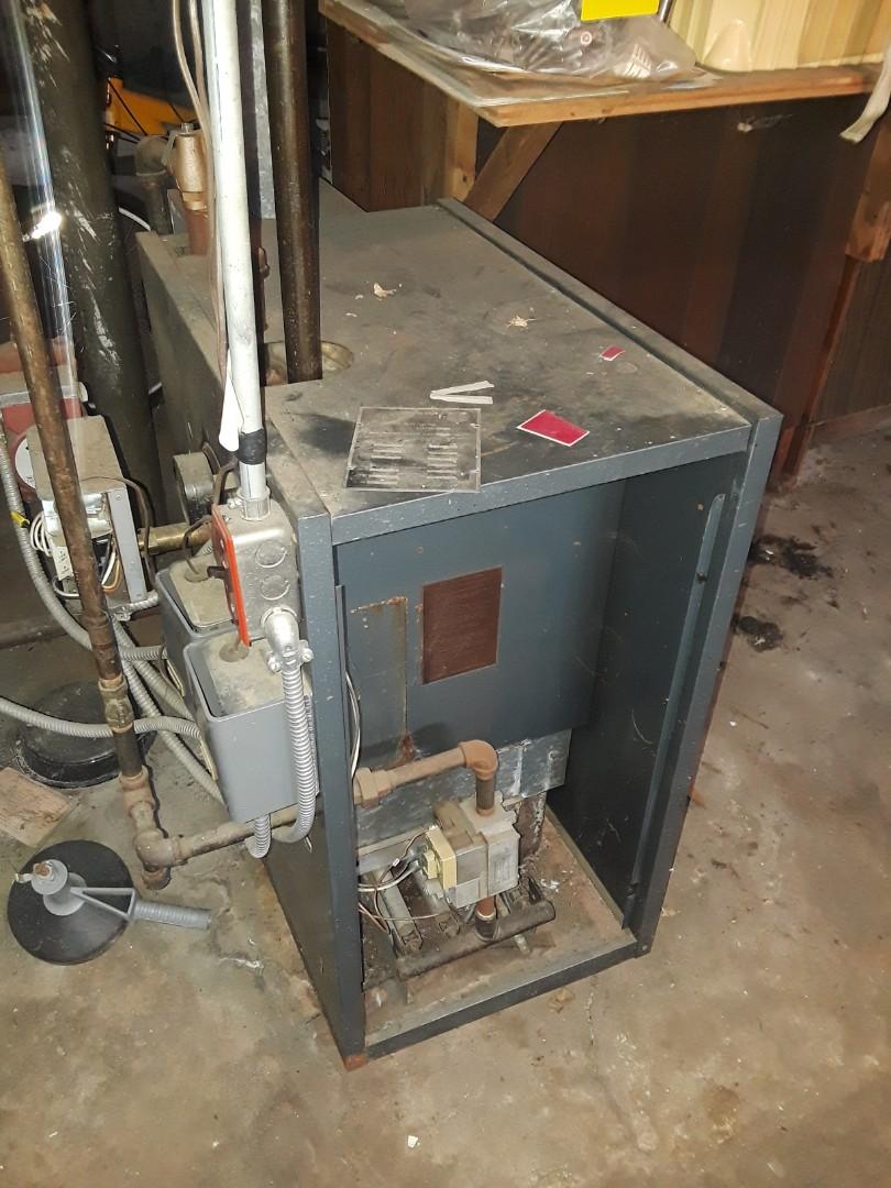 Worcester, MA - Repair on a Peerless gas boiler