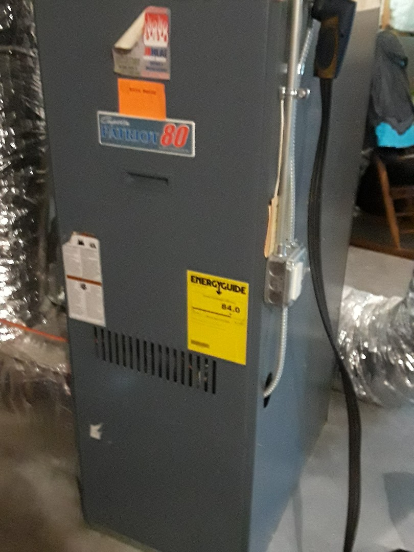Leominster, MA - Clean and check Comfort Aire oil furnace