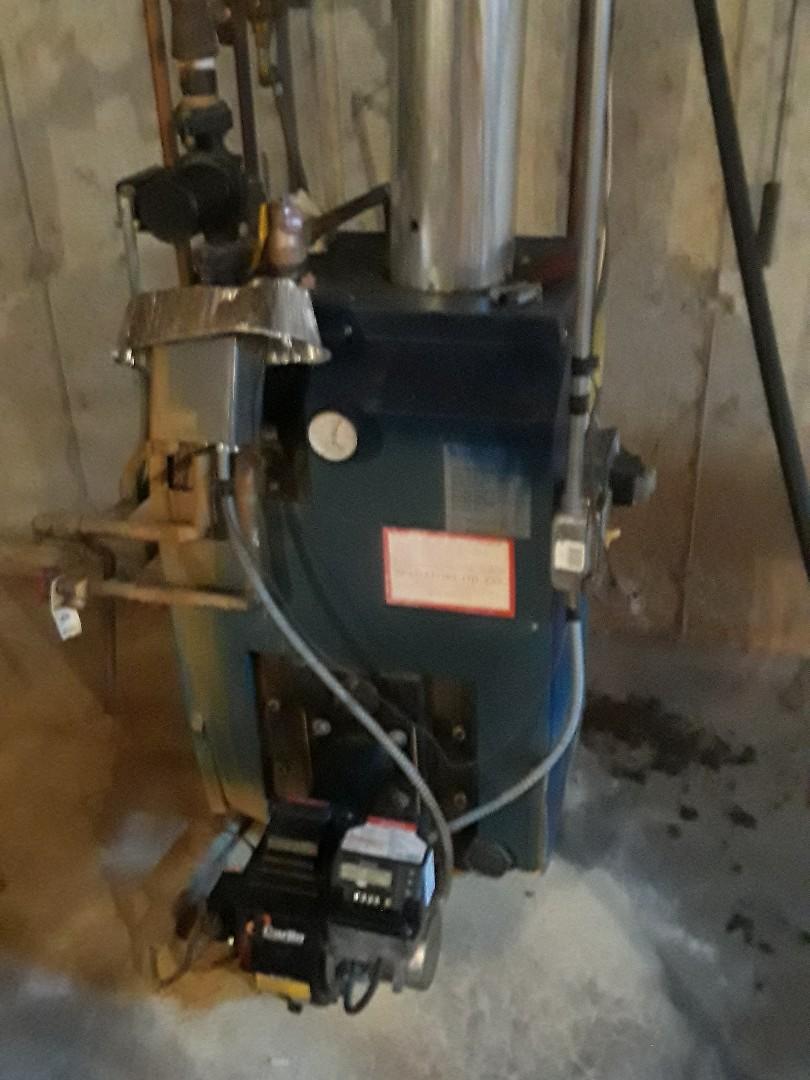 Leominster, MA - Repair on a Dunkirk oil boiler