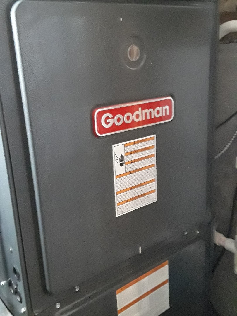 Worcester, MA - Clean and check Goodman gas heating unit