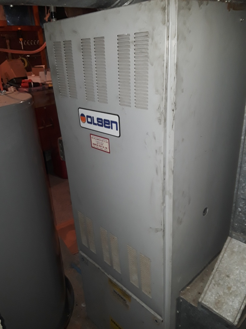 Worcester, MA - Clean and check Olsen oil heating unit