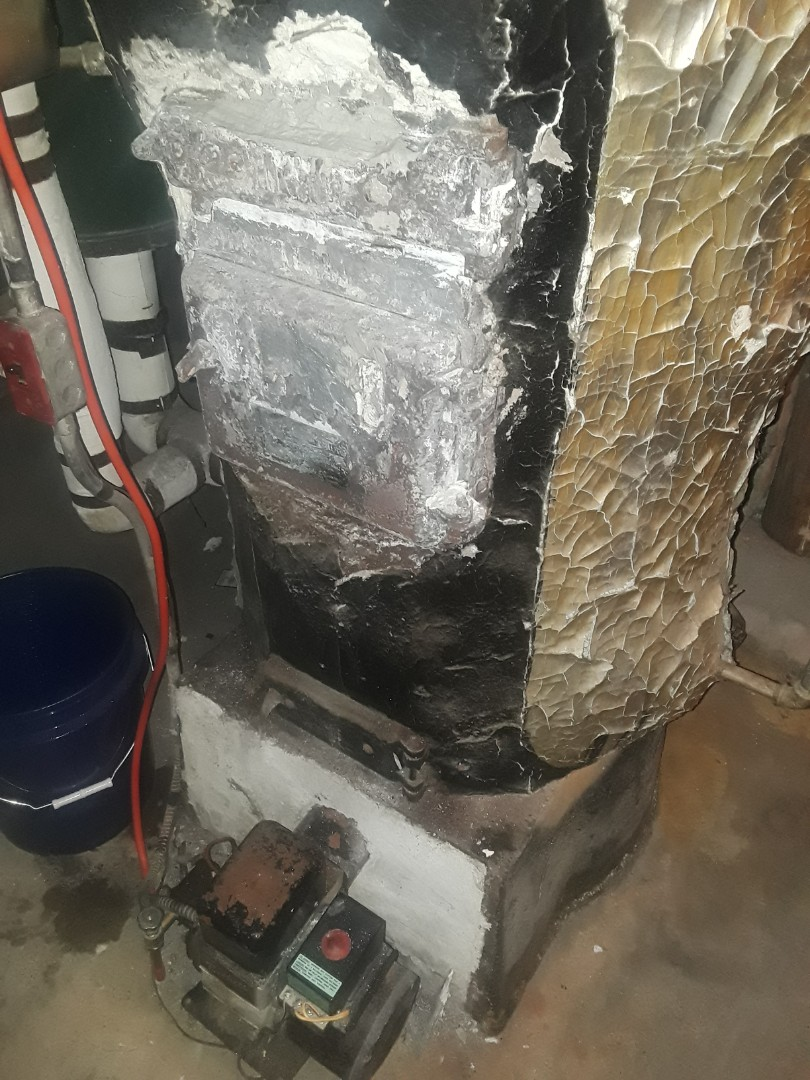 Leominster, MA - Clean and check Snowman oil boiler