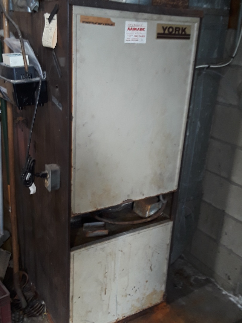 Worcester, MA - Clean and check Lennox oil heating unit