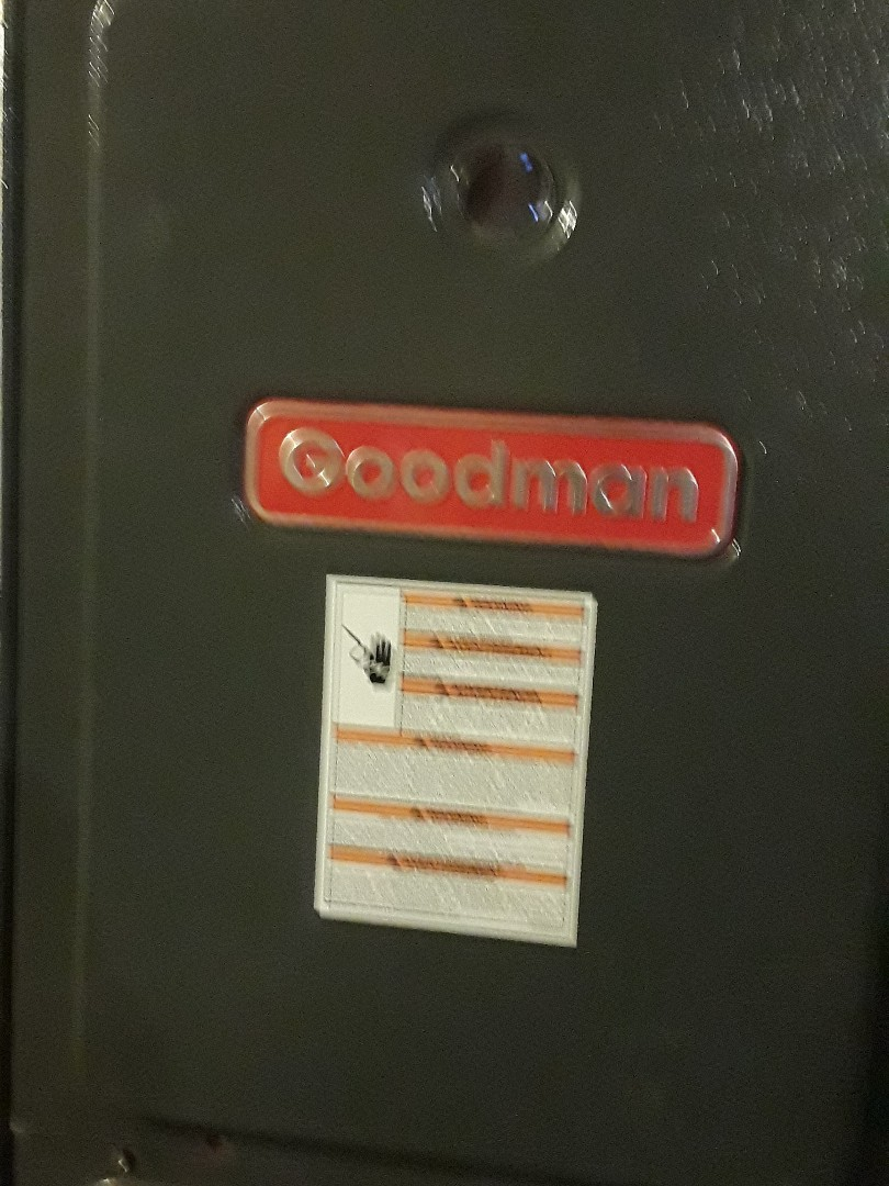 Hudson, MA - Repair on a Goodman gas furnace