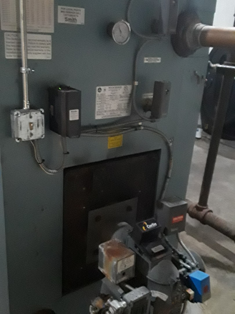 Fitchburg, MA - Repair on a HB Smith Oil commercial boiler