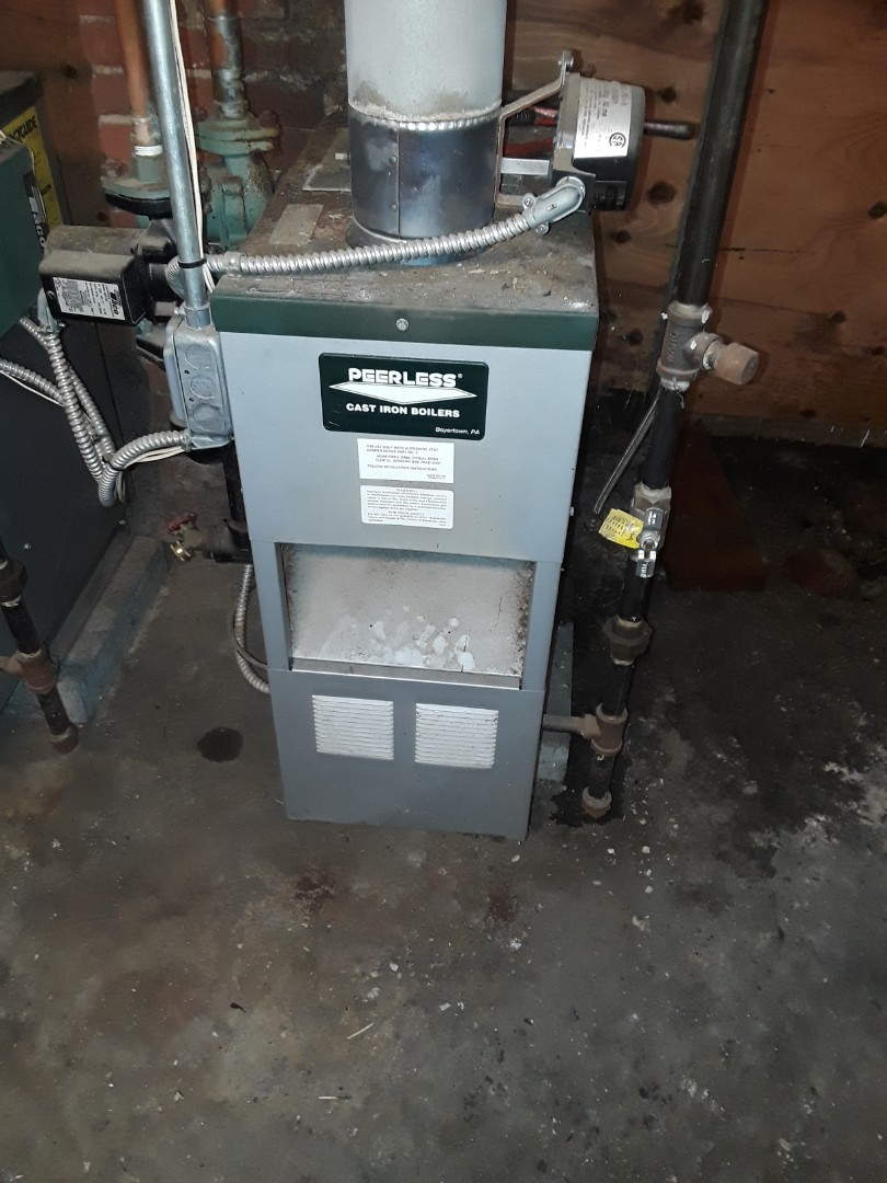 Clinton, MA - Repair on a Peerless gas boiler