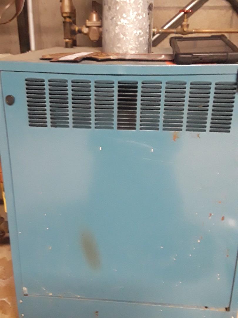 Acton, MA - Repair on a Burnham gas boiler