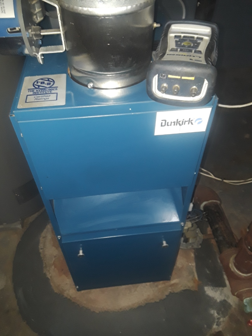 Worcester, MA - Clean and check Dunkirk gas steam boiler