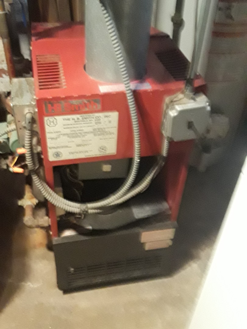 Clean and check HB Smith gas boiler