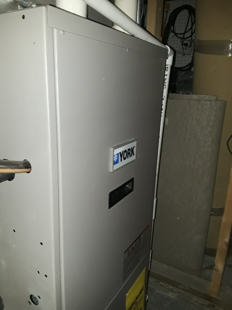 Clean and check York gas Furnace
