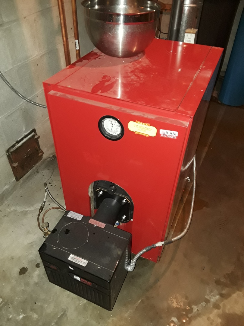 Princeton, MA - Repair on a Biasi oil boiler