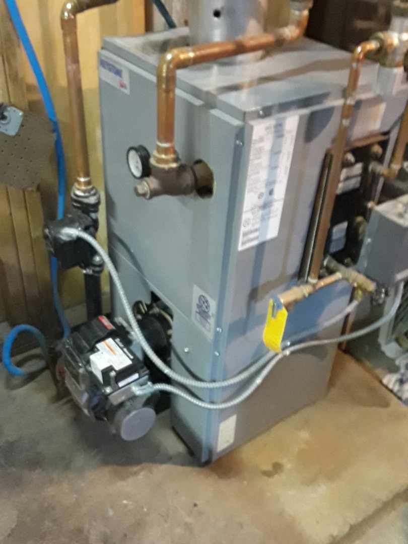Worcester, MA - Clean and check Utica oil boiler