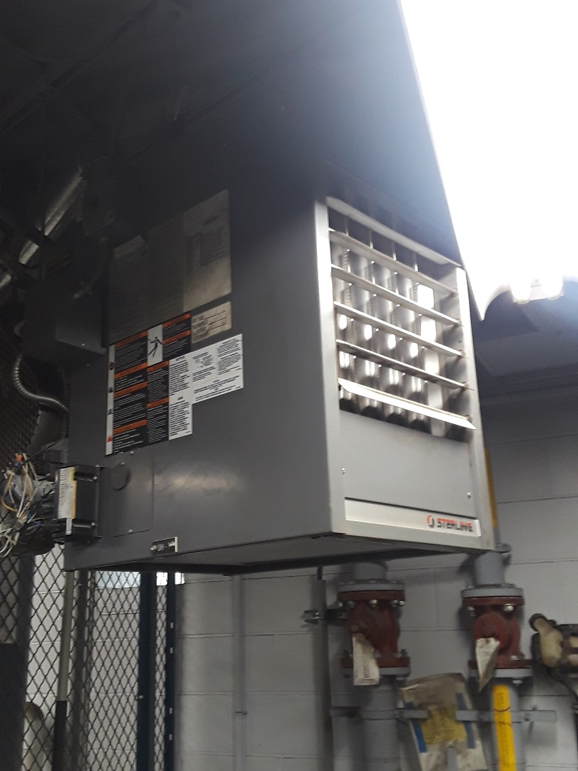 Clean and check Sterling gas unit heater
