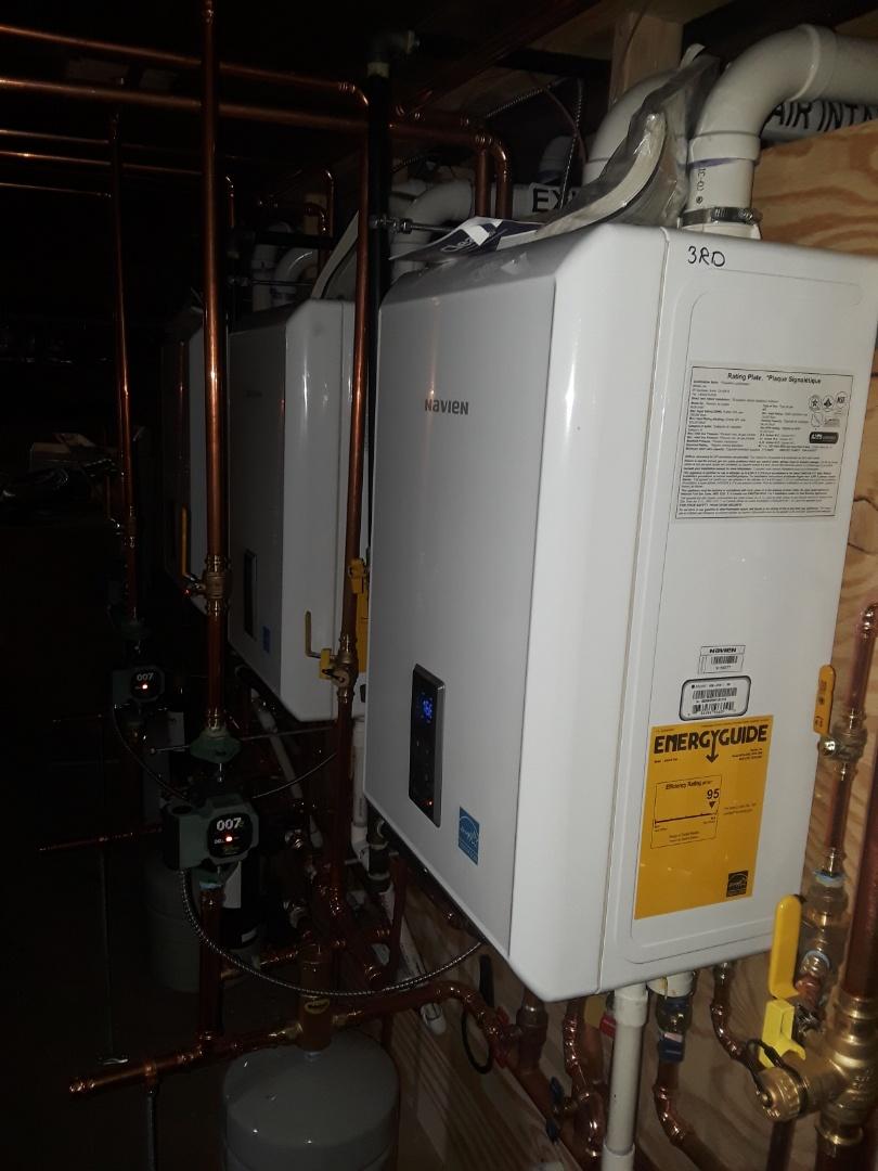 Gardner, MA - Repair on Navien gas boilers