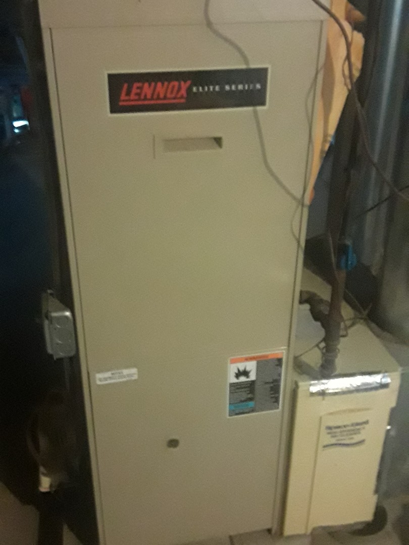 Fitchburg, MA - Clean and check Lennox gas heating unit