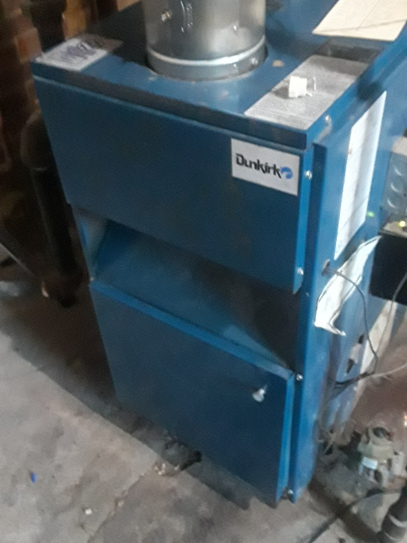 Fitchburg, MA - Clean and check Dunkirk gas steam boiler