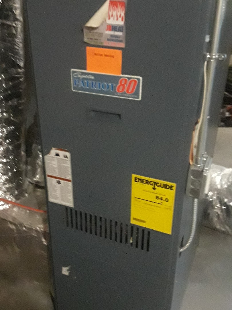 Leominster, MA - Repair on a Comfort Aire oil heating unit