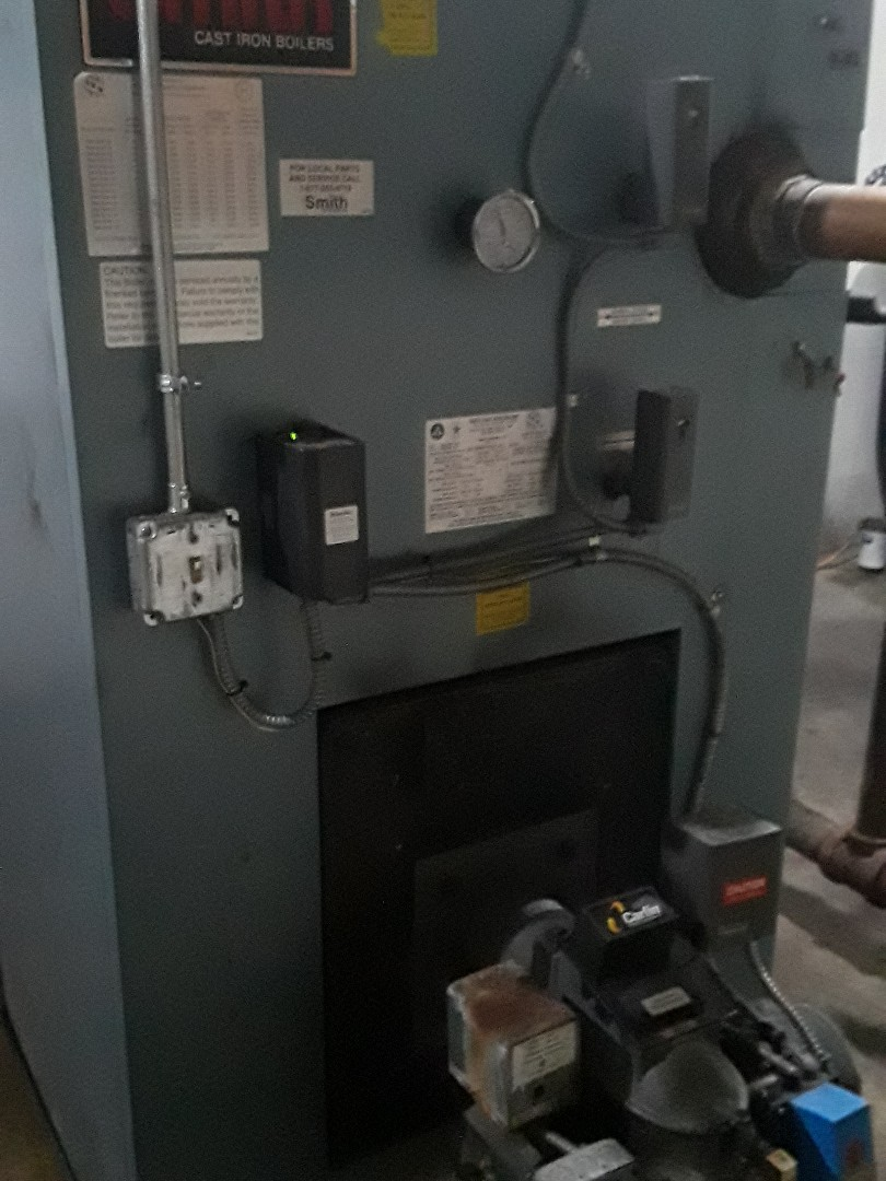 Fitchburg, MA - Repair on HB Smith oil boiler