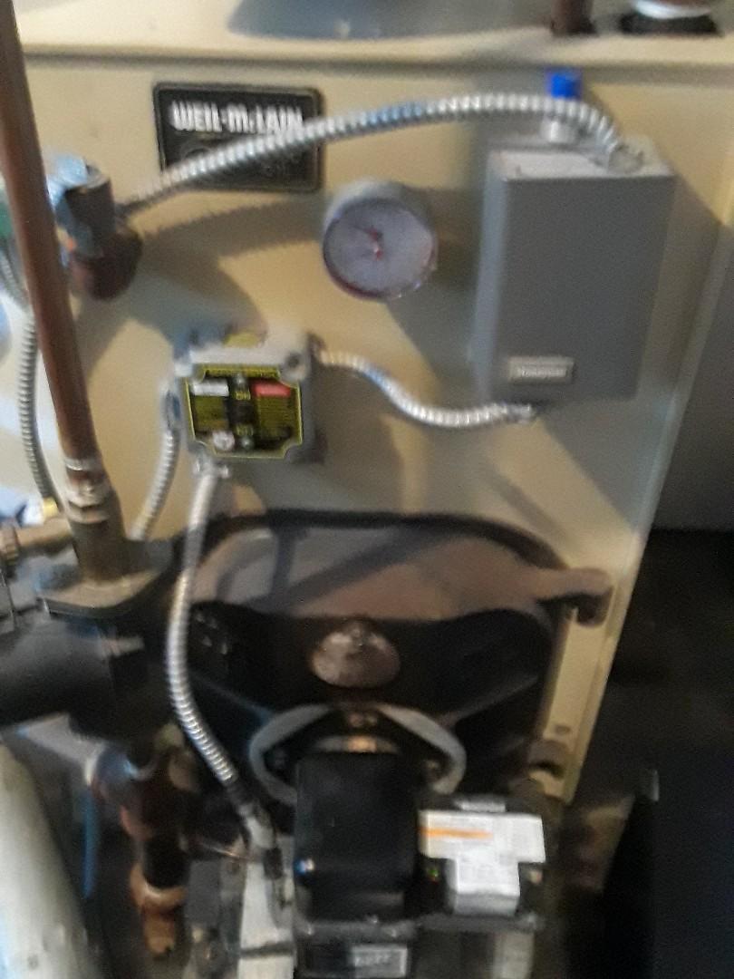 Stow, MA - Repair on a Weil McLain oil boiler