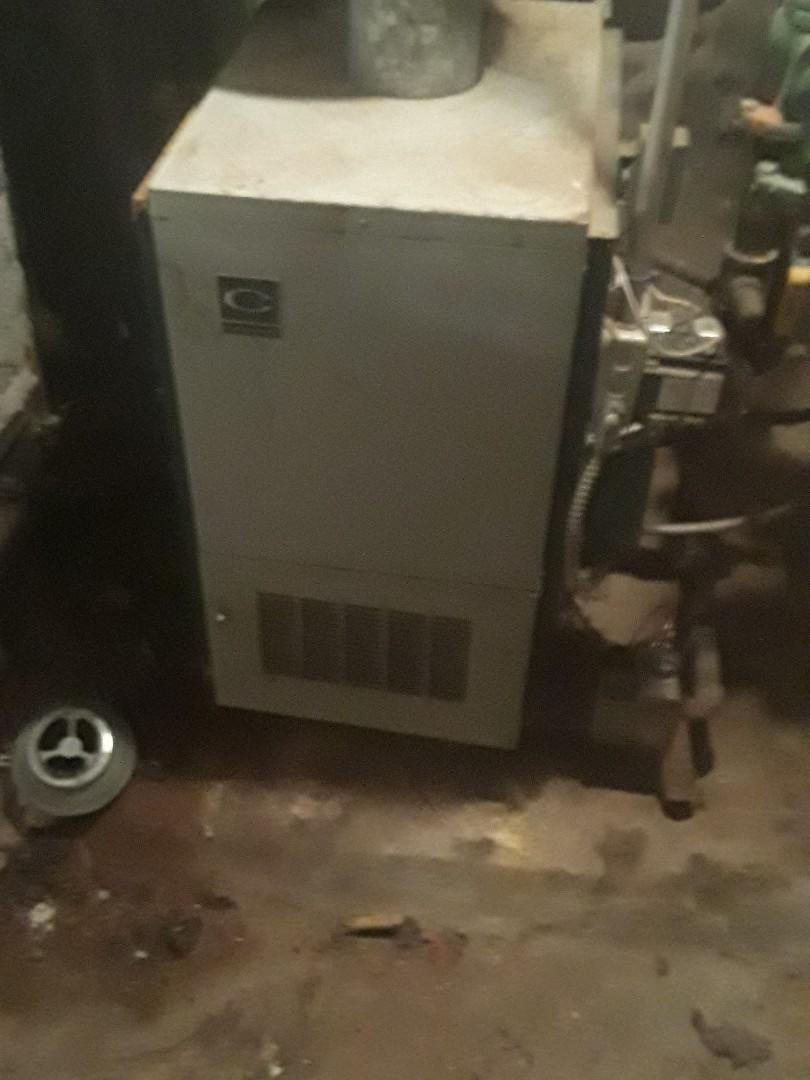 Fitchburg, MA - Repair on a Crown gas boiler
