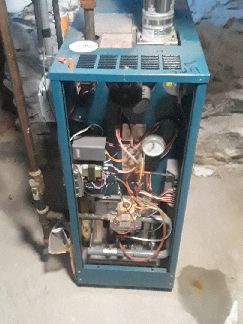 Leominster, MA - Repair on s Burnham gas boiler