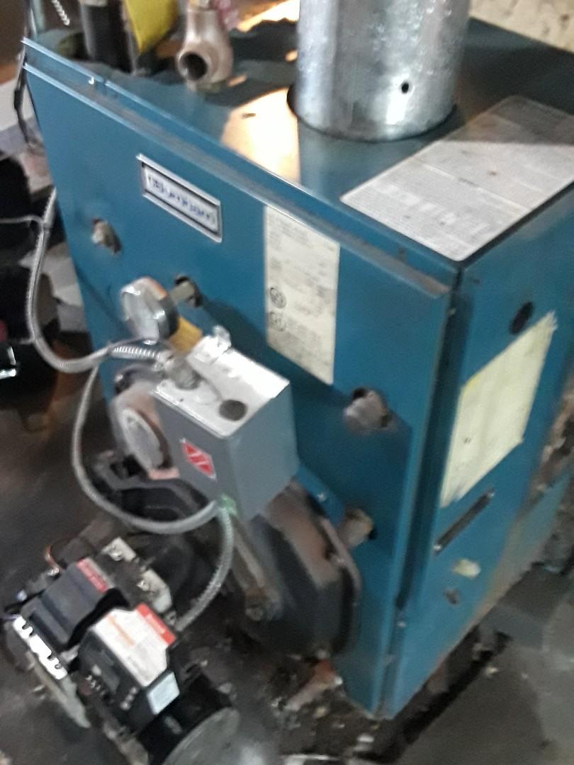 Westminster, MA - Repair on a Burnham oil boiler