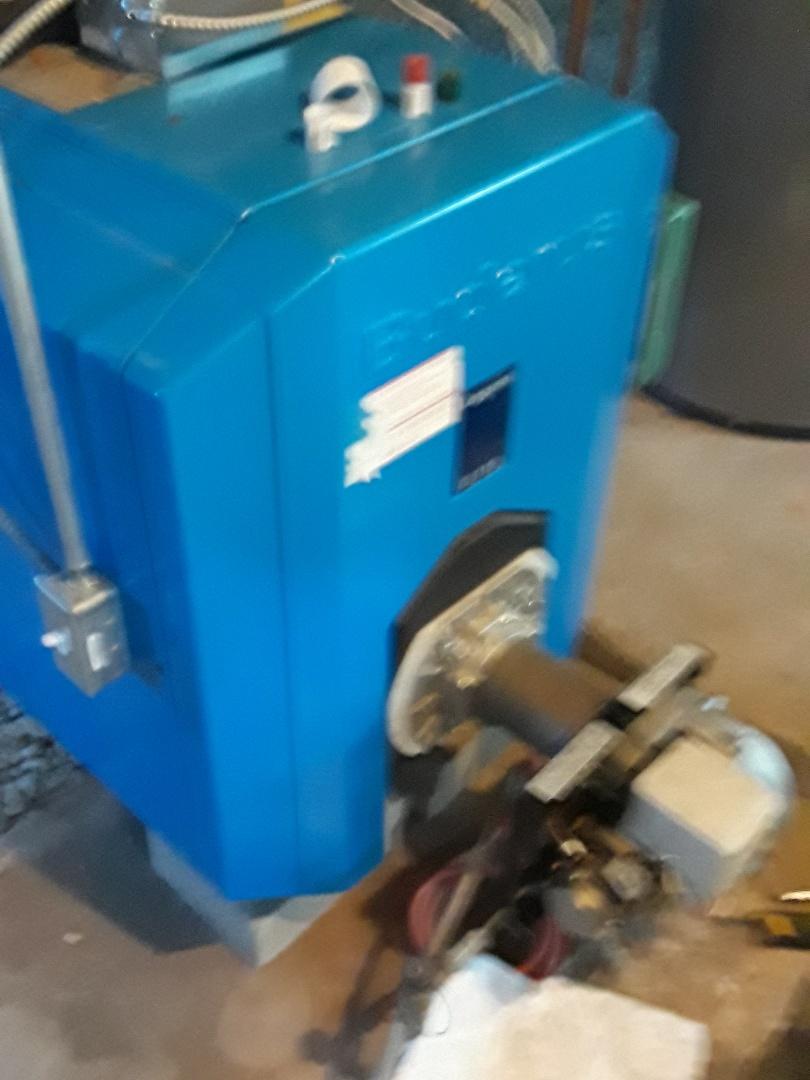 Auburn, MA - Repair o a Buderus oil boiler