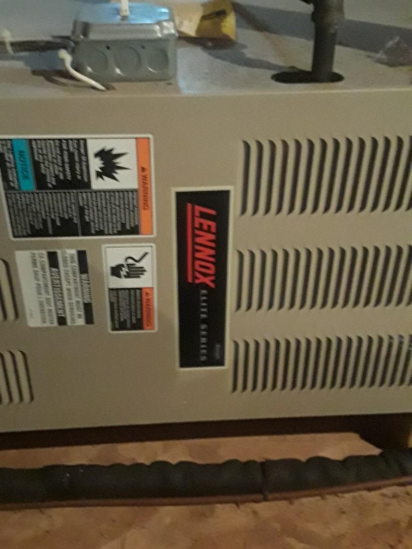 Hopkinton, MA - Repair on a Lennox gas furnace
