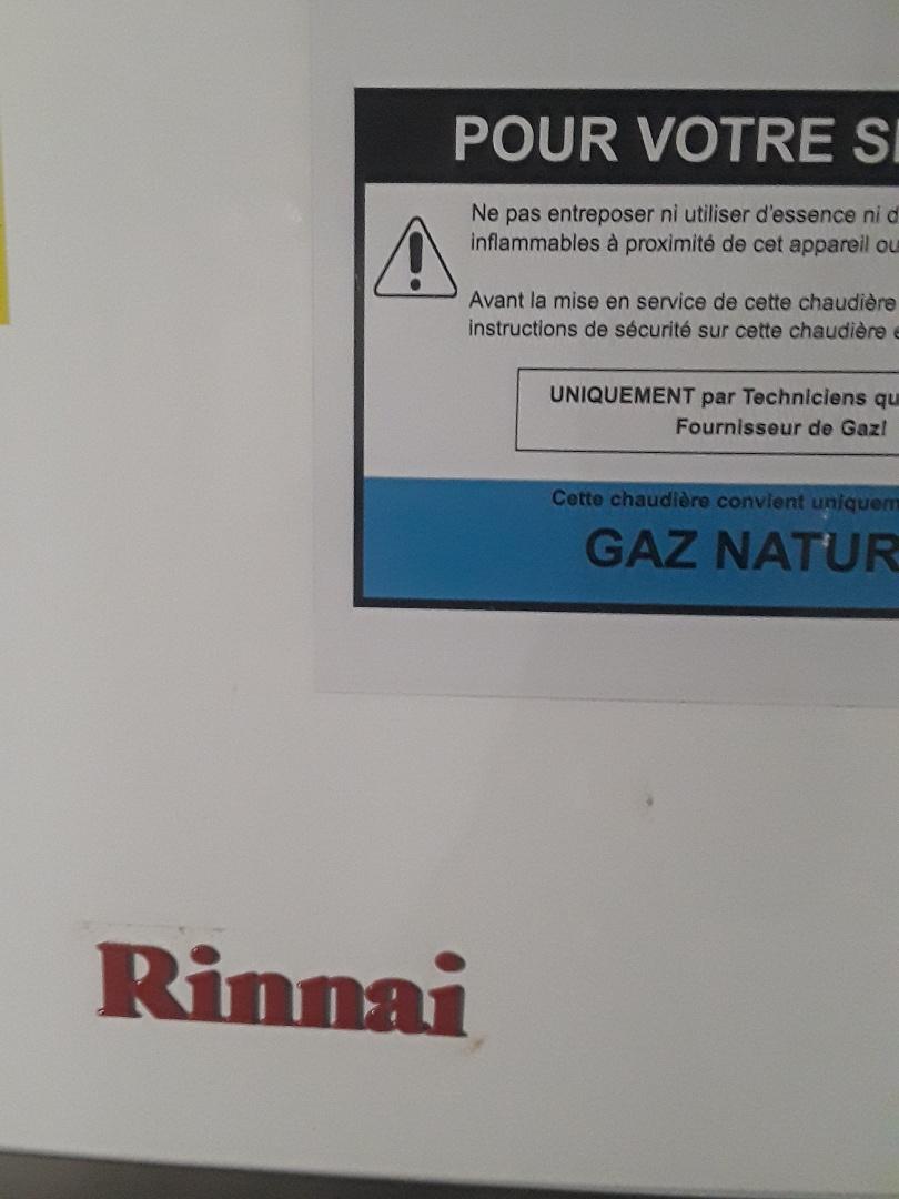 Fitchburg, MA - Repair on a Rinnai gas boiler