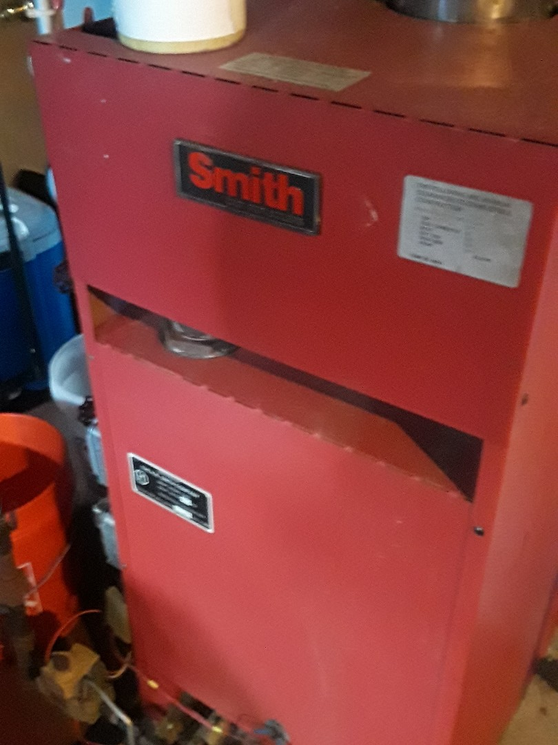 Hudson, MA - Repair on Crown gas steam boiler