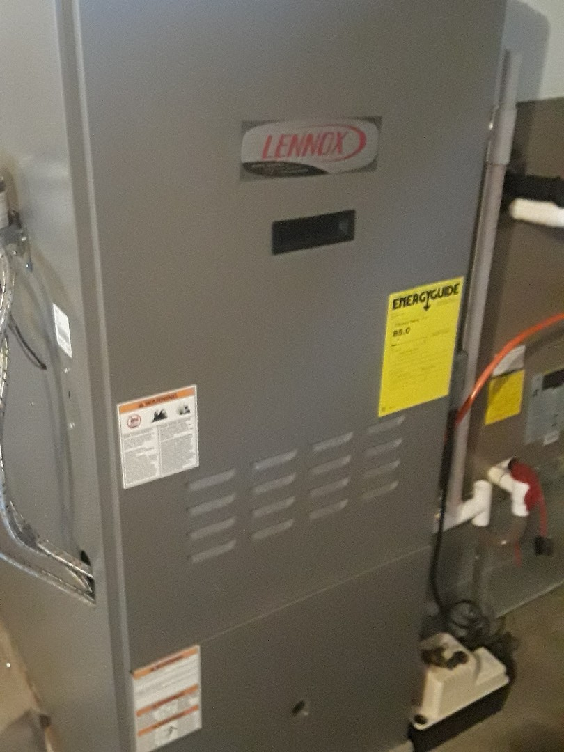 Auburn, MA - Clean and check Lennox oil heating unit