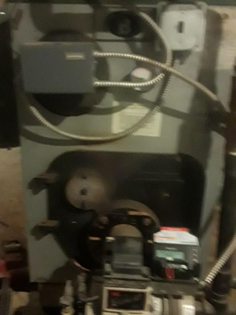 Lancaster, MA - Repair on a Peerless oil boiler