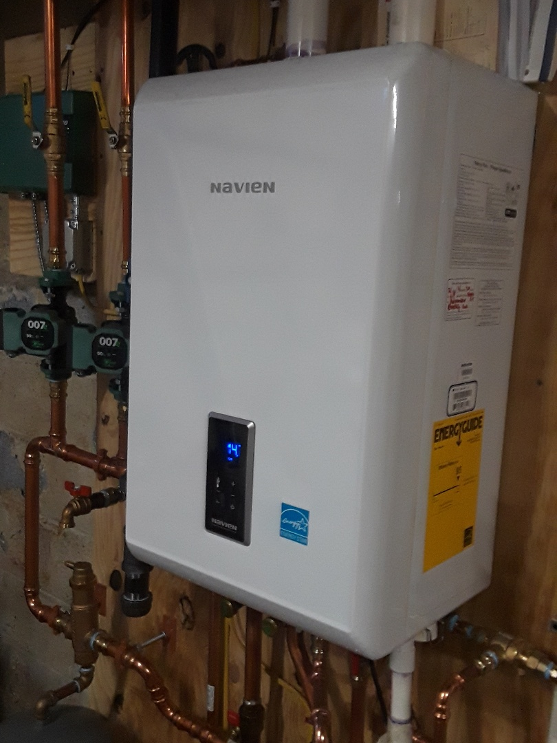 Auburn, MA - Clean and check Navien gas boiler