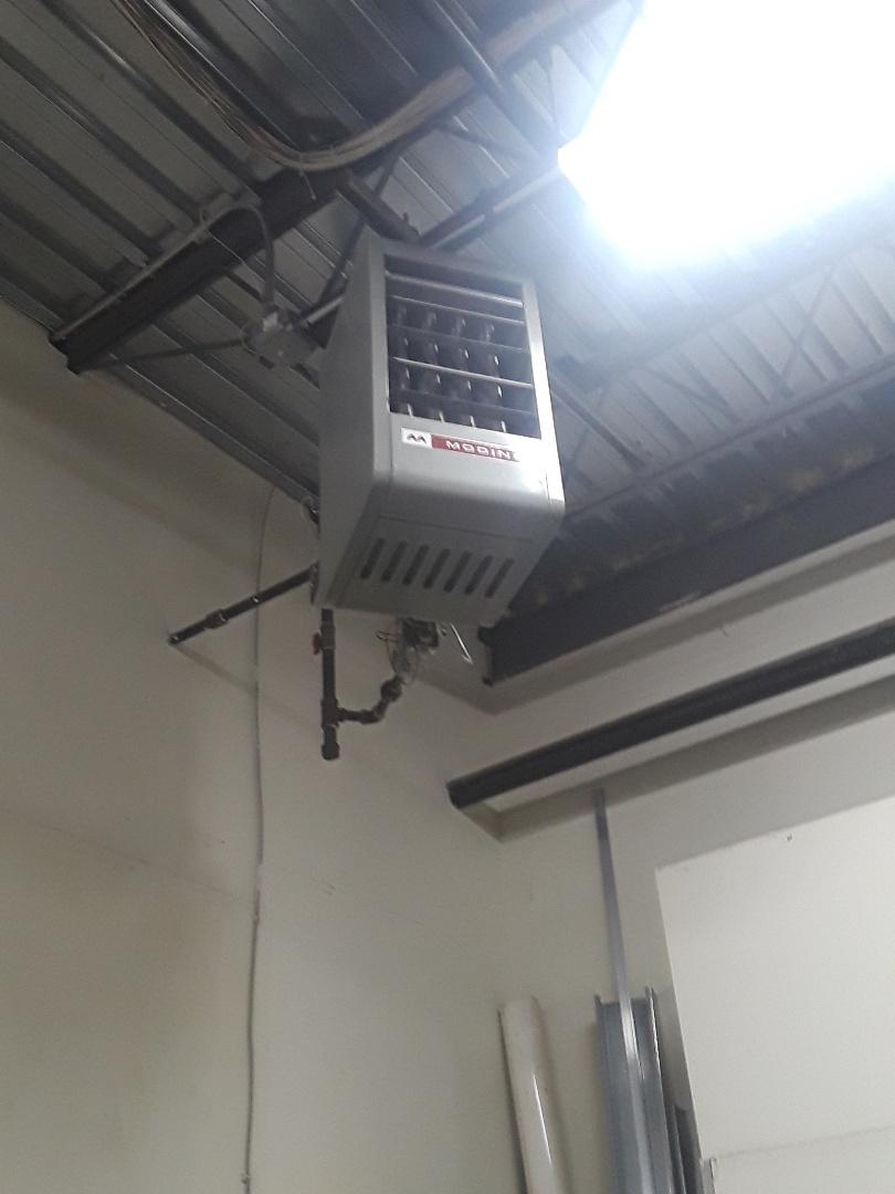 Fitchburg, MA - Repair on a Modine unit heater