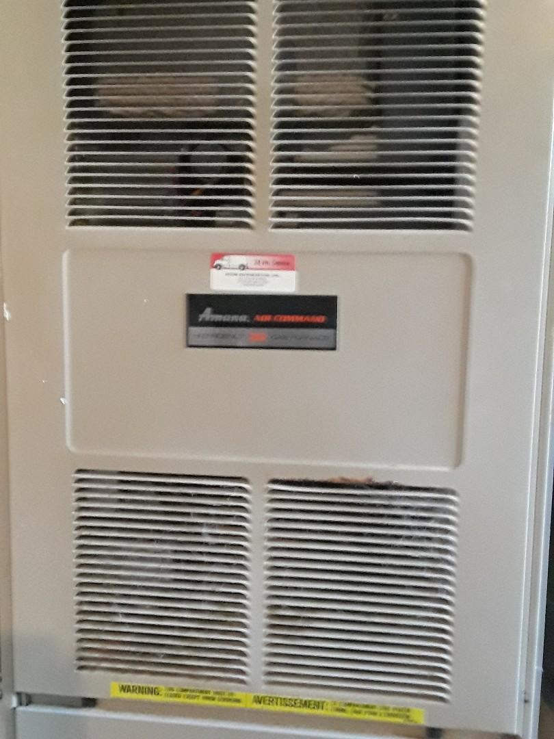 Marlborough, MA - Repair on an Amana gas heating unit