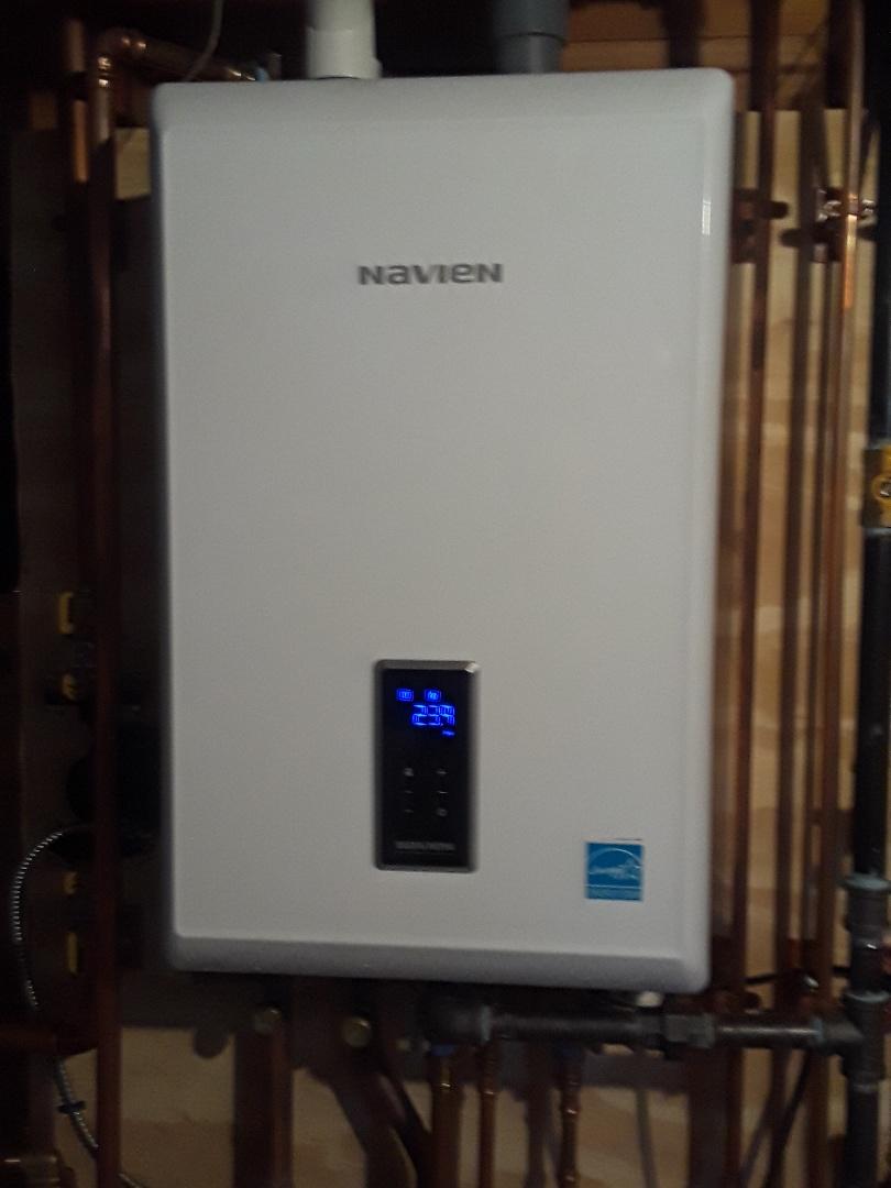 Worcester, MA - Circulator pump replacement on a Navien gas condensing boiler