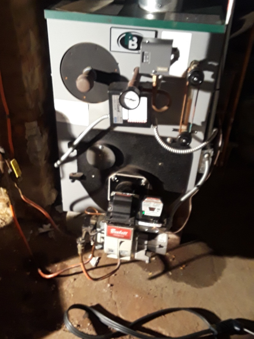 Worcester, MA - Clean and check Peerless oil boiler